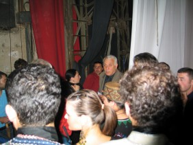 Backstage in Rustavi Concert Hall 2006
