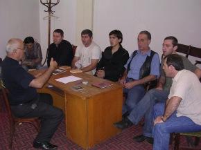 Lotbari school in Guria, 2006
