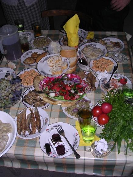 Dinner at Dato's, Guria 2006