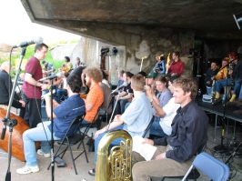 Cape St Spear - Tuning up for Finale of Sound Symposium 2004
