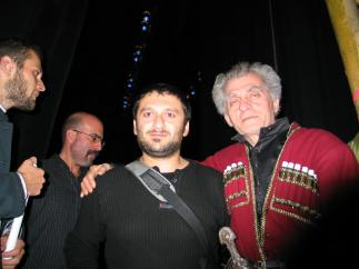 Backstage at the Opera House, Tbilisi 2008